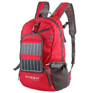 ECEEN Solar Powered Hiking Daypacks