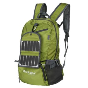 ECEEN Solar Powered Hiking Daypack