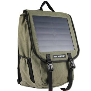ECEEN Solar Powered Messenger Bag