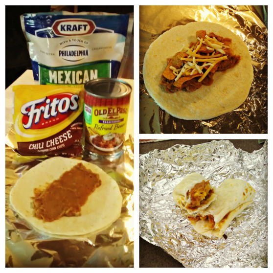 Easy Campfire Burritos: Outdoors And Nature