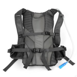 Ivation 7W Solar Charging and 1.8L Hydration Backpack-back