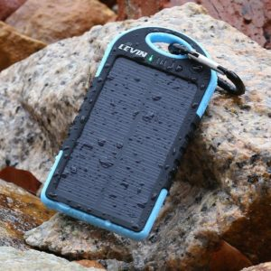 Levin Dual USB Port 5000mAh Portable Solar Panel Charger