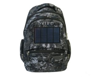 VIVO Solar Bag 2.4W Solar Panel and 1600 mAh Battery