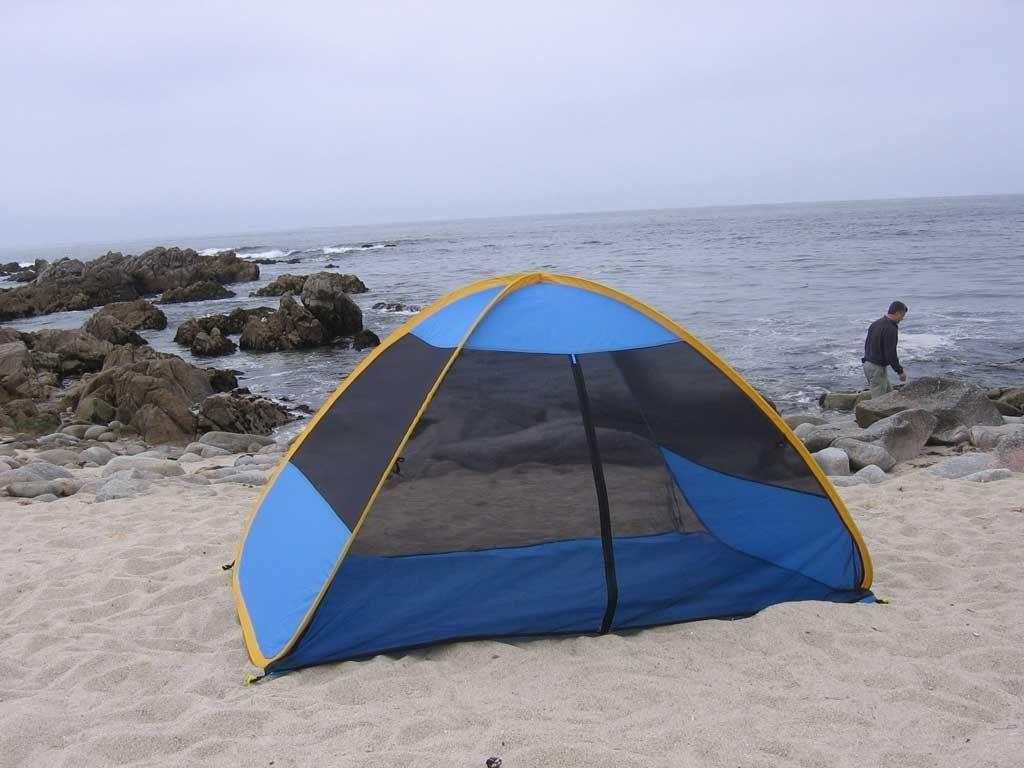 Genji Sports Self Expanded Screen Tent Beach & Genji Sports Self Expanded Screen Tent Review u2013 Outdoors and Nature