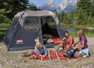 Coleman Instant Cabin Tent Outdoors & Enjoying the Full Benefits of Coleman 6 Person Instant Tent ...