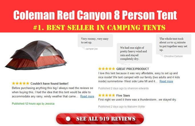 Best Coleman Instant Tent For Family Camping: Buying Guide