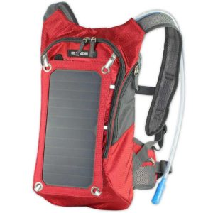 ECEEN 7W Solar Charging and 1.8L Hydration Backpack