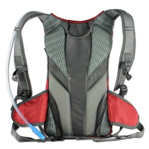 ECEEN 7W Solar Charging and 1.8L Hydration Backpack-back