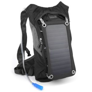 Ivation 7W Solar Charging and 1.8L Hydration Backpack