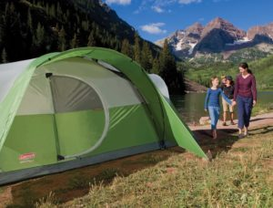 Coleman Montana 8-Person Tent Outdoors