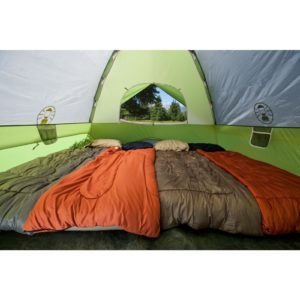Coleman Sundome 6 Person Tent Inside