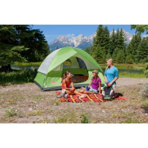 Coleman Sundome 6 Person Tent Outdoors